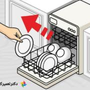 اصول استفاده از ماشین ظرفشویی